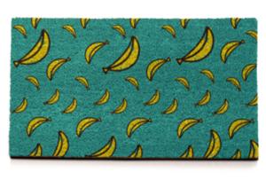 Fondo de plátanos para felpudo personalizado