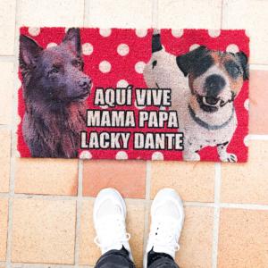 Felpudo personalizados con fotos de perros