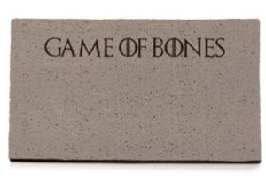 Felpudo con fondo de Game of Bones
