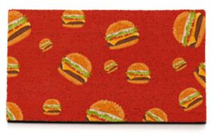 Felpudo personalizado con hamburguesas