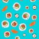 Fondo de sushi