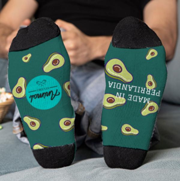 Detalle de los calcetines personalizados