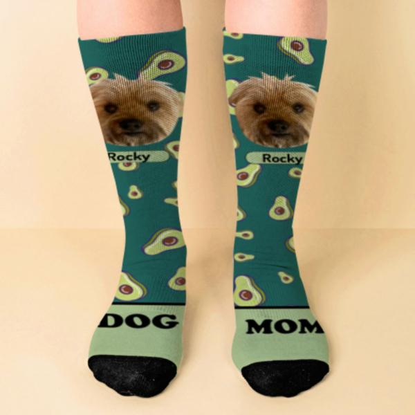 Calcetines personalizados con agaucates