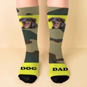 Calcetines personalizados con diseño militar