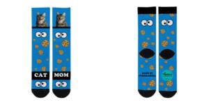 Diseño de galletas para los calcetines
