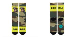Diseño militar para los calcetines